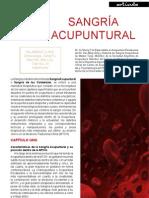 Sangria Acupuntural