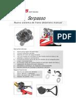 Sorpasso - Freno Delantero Manual