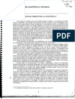 Benveniste - Problemas de lingüística general - Ojeada al desenvolvimiento de la lingüística