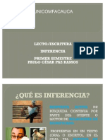 Inferencia Estudiantes LectoEscritura Unicomfacauca
