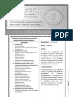 Ficha Técnica del curso de Microfinanzas