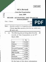 MCS-035 june2009
