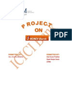 """a project report on crm of icici bank Posts about mba project topics 1 a study of bank customers and employee in 4 local bank of malaysia 2 a study on """"whether taxation is a selling tool for life insurance""""with reference to icici prudential lim written by blast your project."""