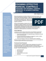 Designing Effective Financial Controls - Leveraging the Internal Control Framework to Achieve Control Objectives