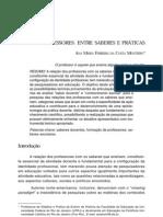 MONTEIRO Ana Maria Ferreira da Costa Ensino de História entre saberes e práticas Educação & Sociedade, Campinas (74) 121-142 abr 2001