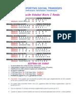 informe VOLEIBOL  programacion