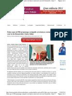 20-04-11 Falso que el PRI proponga competir a la banca comercial con la banca de desarrollo
