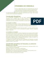 UBICACIÓN ASTRONÓMICA DE VENEZUELA