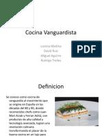 Cocina Vanguardista