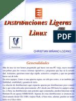 Distribuciones Ligeras de Linux