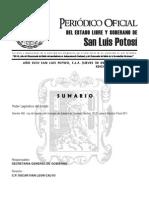 Ley de Ingresos Del Municipio de Soledad de Graciano Sanchez 2011