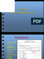 1997-98 Asian Financial Crisis