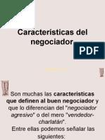 Caractersticas Del Negociador