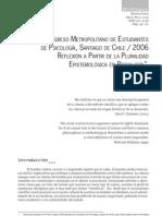 Méndez, M. (2006) - Reflexión a partir de la pluralidad epistemológica en psicología