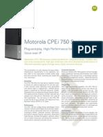 CPEi 750 DataSheet