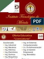 Gestión Tecnológica y Vinculación del Instituto Tecnológico de Mérida