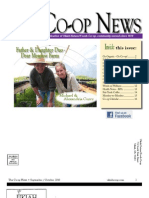 September - October 2010 Ukiah Natural Foods Co-op Newsletter