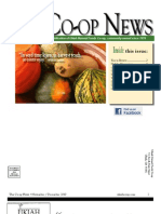 November - December 2010 Ukiah Natural Foods Co-op Newsletter