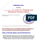 Ultimate Dropship and Wholesale List US and UK