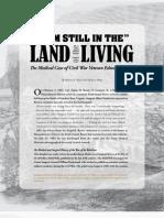 The Medical Case of a Civil War Veteran - Spring 2011