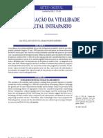 AVALIAÇÃO DA VITALIDADE FETAL INTRA PARTO