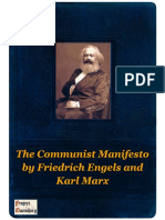 The Communist Manifesto by Friedrich Engels and Karl Marx