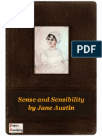 Sense and Sensibility by Jane Austin