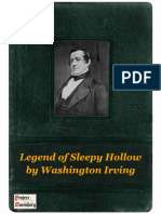 Legend of Sleepy Hollow by Washington Irving