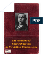 The Memoirs of Sherlock Holms by Sir Arthur Conan Doyle
