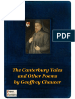 The Canterbury Tales and Other Poems by Geoffrey Chaucer