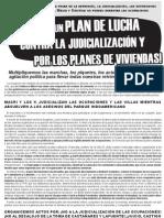 11_03_15 Volante A4 In Do America No Contra La Judicializacion y Por Vivienda