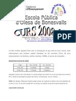 FULL inici curs 08 09