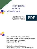 Bullous Congenital Ichthyosiform Erythroderma