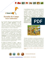 Farm field schools / sustainable Escuelas de campo