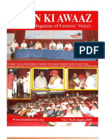 AUGUST 2010 National Magazine of Farmers Voice