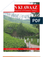FEBRUARY 2011 National Magazine of Farmers Voice