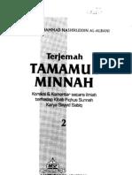 Tamaamul Minnatu Fii Ta'liiqi 'Alaa Fiqhus Sunnah Buku 2 bagian A