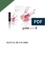 Manual Guitar Pro