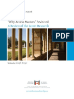Berger 2008, Why Access Matters