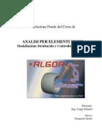 ALGOR - elementos finitos