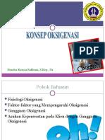 KONSEP OKSIGENASI