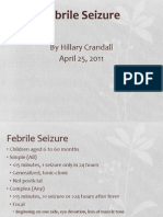 Febrile Seizure 04.25.2011