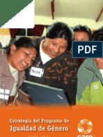 Estrategia del Programa de Igualdad de Género