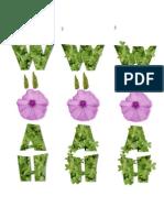 Cartel Tipografico Woah_4
