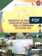 Dispositivo de Prevencion y Atencion de Inundaciones 2011l