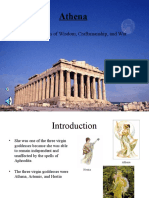 Diana's Athene powerpoint