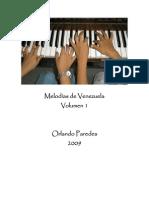 Melodías de Venezuela. Orlando Paredes