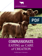 Compassionate Eating as Care of Creation
