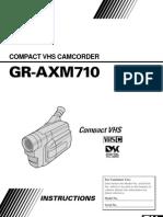 Manual Cámara GR-AXM710
