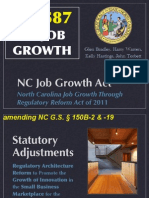 Presentation-Ready HB587 Jobs Bill Summary